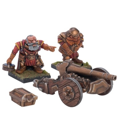 Dwarf Ironbelcher (1 War Machine)