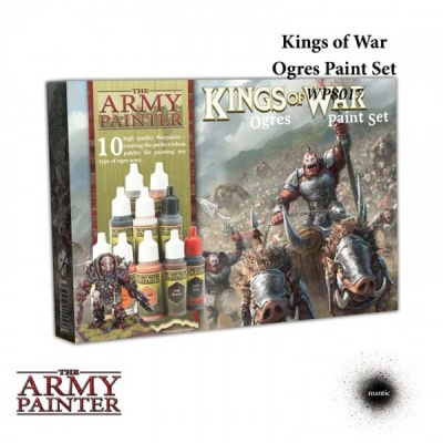 Warpaints Kings of War Ogres Paint Set