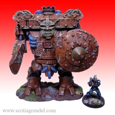 MKII War Golem Gladiator