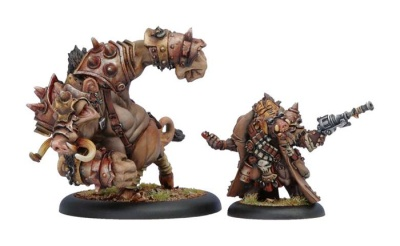 Minion Lesser Farrow Warlock and Warbeast