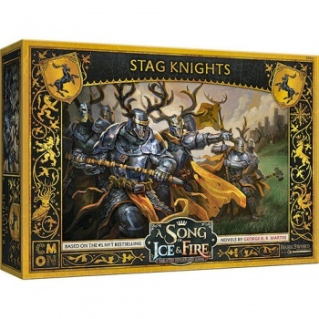 A Song Of Ice And Fire - Baratheon Stag Knights - EN