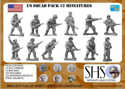 AMERICAN INFANTRY SQUAD 1944