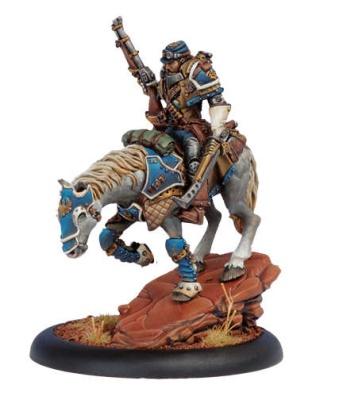 Cygnar Warcaster Captain Jeremiah Kraye