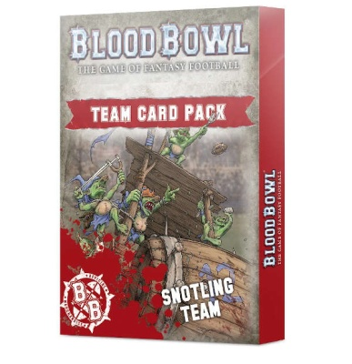 Blood Bowl Snotling Team Card Pack