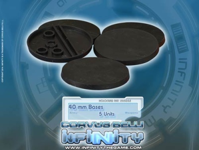 Infinity 40mm Bases (5)