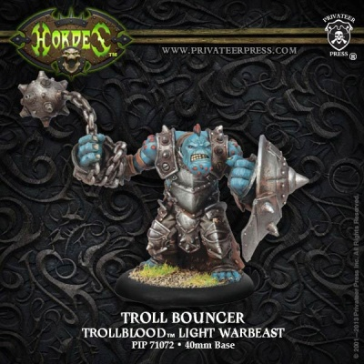 Trollblood Troll Bouncer Light Warbeast Box