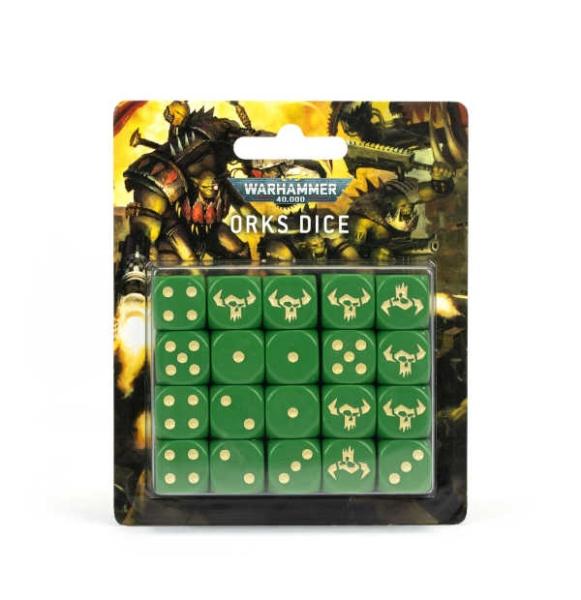 WH40K: Orc Würfelset