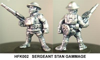 Sergeant Stan Gammage