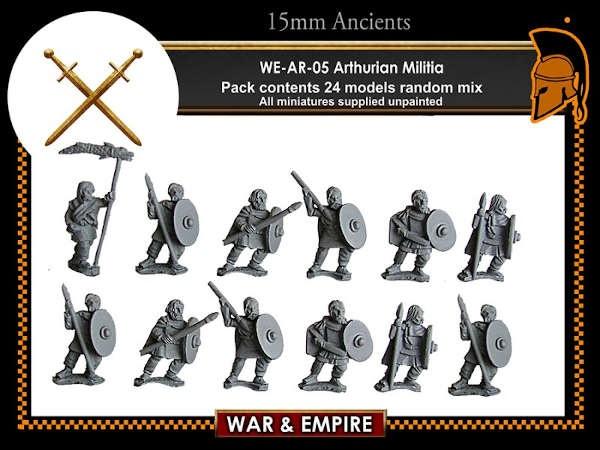 Arthurian - Militia (Spears/Javelins)
