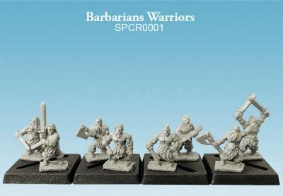 Barbarians Warriors (10mm) (8)
