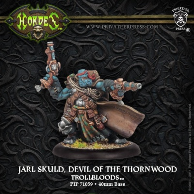 Trollkin Warlock Jarl Skuld, Devil of the Thornwood
