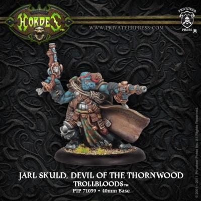Trollkin Warlock Jarl Skuld, Devil of the Thornwood