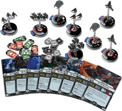 Star Wars Armada: Sternenjägerstaffeln des Imperiums  2