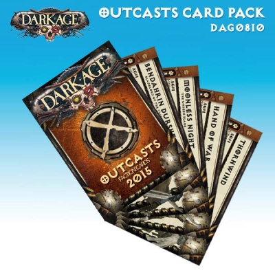 Outcasts 2015 Card Pack
