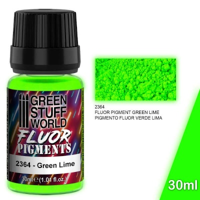 Pigment FLUOR GREEN LIME