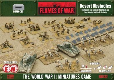 Desert minefields & Tank Traps
