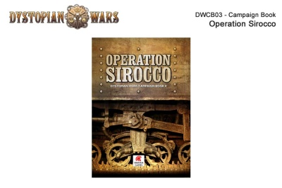 Dystopian Wars Campaign Book: Operation Sirocco