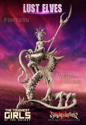 Xehzirhya, Demon Steed Rider (LE - Fantasy)