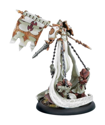 Protectorate Warcaster The Harbinger of Menoth