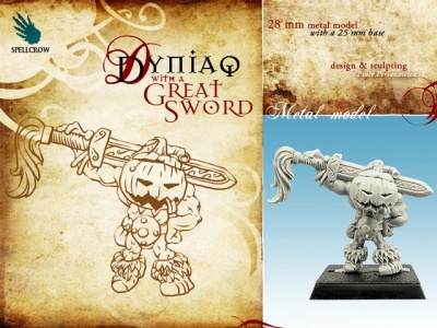 Dyniaq with a Great Sword