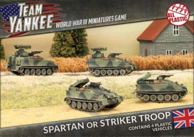 Spartan or Striker Troop (Plastic)