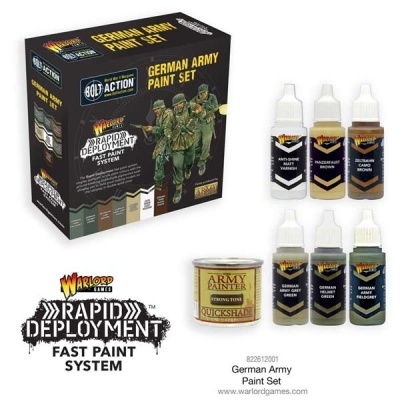 Bolt Action German Paint Set