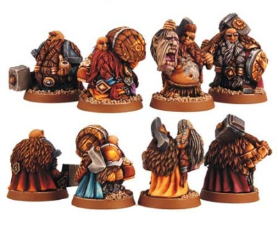 Dwarf Adventurers set