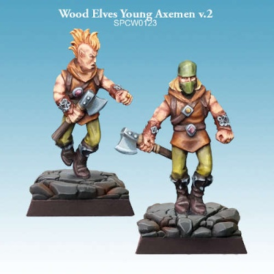 Wood Elves Young Axemen v.2