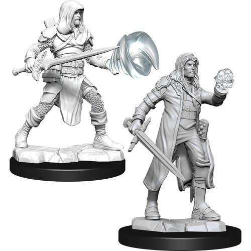 Multiclass Fighter + Wizard Male