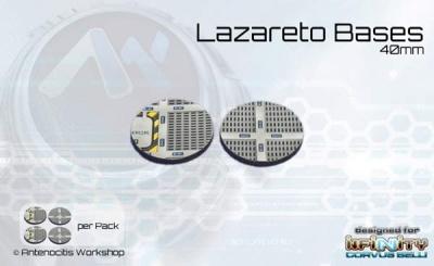 Lazareto Bases - 40mm round (4)