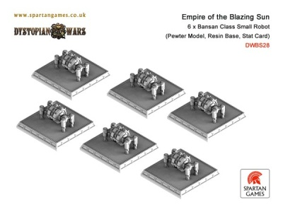 Empire of the Blazing Sun Bansan Class Small Robot (6) (OOP)