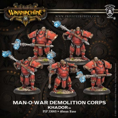 Man-O-War Demolition Corps (Plastic)