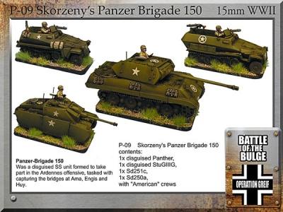 Skorzseny Panzer Brigade 150 (4)