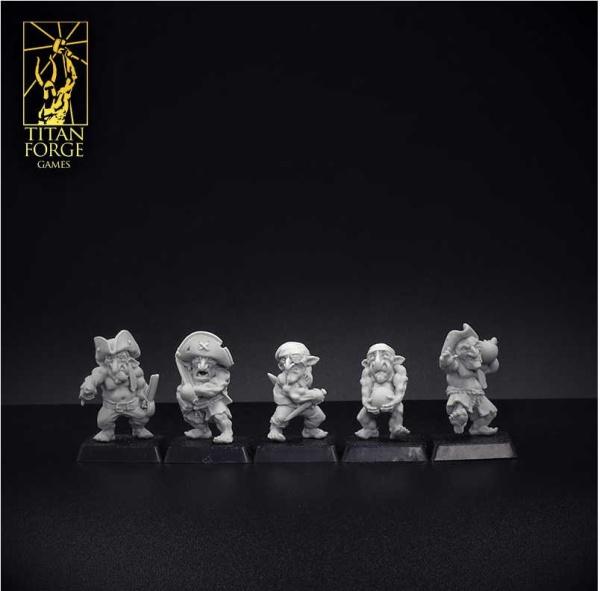 Bloodsail Island Deck Goblins