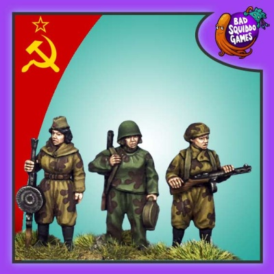 Female Soviet Scouts - Pack B (3)