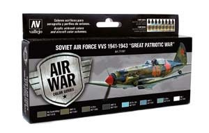 Model Air: Soviet Air Force VVS 1941 to 43 Great Patriotic W