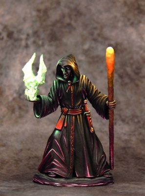 Male Necromancer with Staff