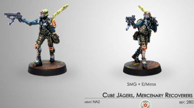 Cube Jägers, Mercenary Recoverers (SMG) (NA2)