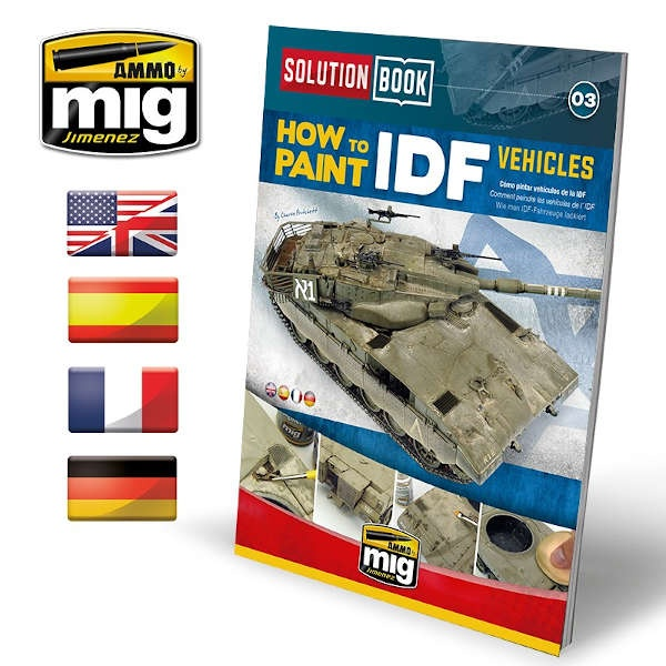 SOLUTION BOOK HOW TO PAINT IDF VEHICLES (Multilingual)