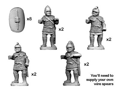 Veteran Spearmen (8)