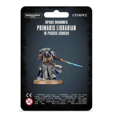 Space Marines PrimarisLibrarian in Phobos Armour