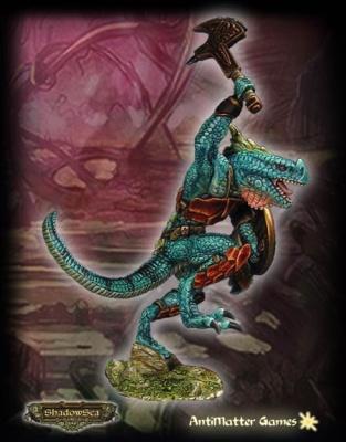 Coatlaxi - Ridgeback Lizardman Lord