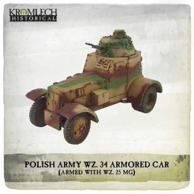 Polish Army wz. 34 Armored Car