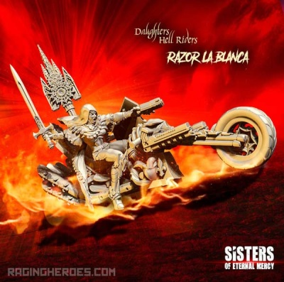Razor La Blanca, Hell Rider Daughter (SoEM - SF