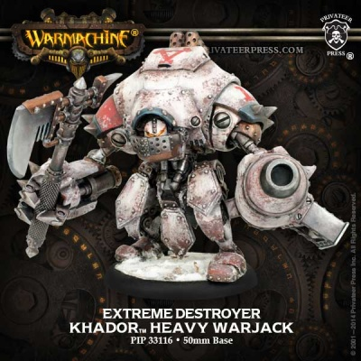 Khador Warjack Extreme Destroyer