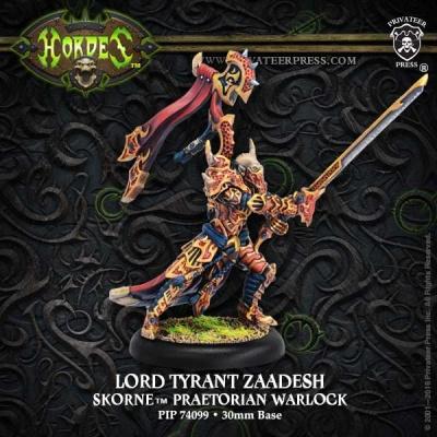 Skorne Warlock Lord Tyrant Zaadesh