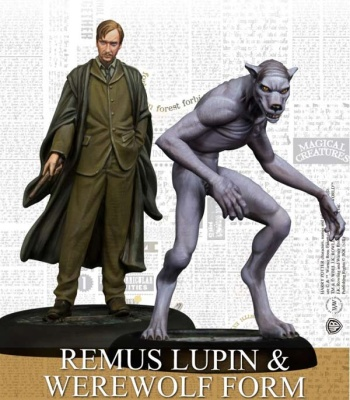 Remus Lupin and Werewolf Form Pack