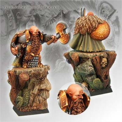 28mm/30mm Dwarf General