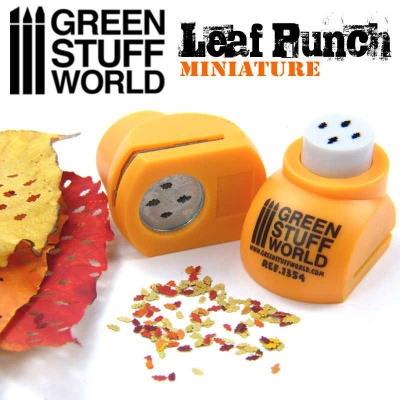 Miniature Leaf Punch ORANGE