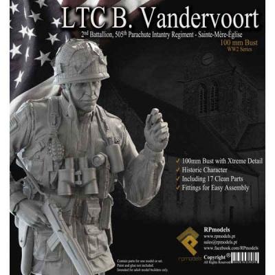 LTC Benjamin Vandervoort BUST